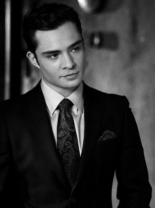 Ed Westwick. Can I PLEASE marry him. He is perfection in a nutshell.