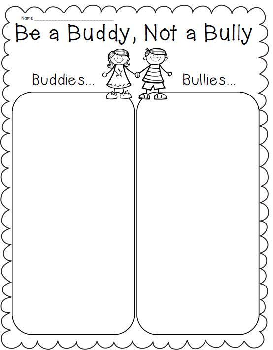 Printables Bullying Worksheets For Kids 1000 ideas about bullying activities on pinterest anti back to school rules friendship kindness and how get along
