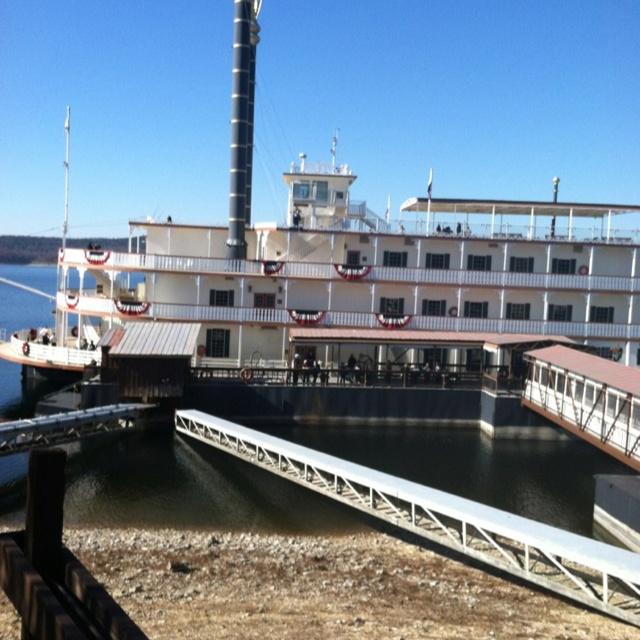 Branson Belle Showboat in Branson, Missouri.