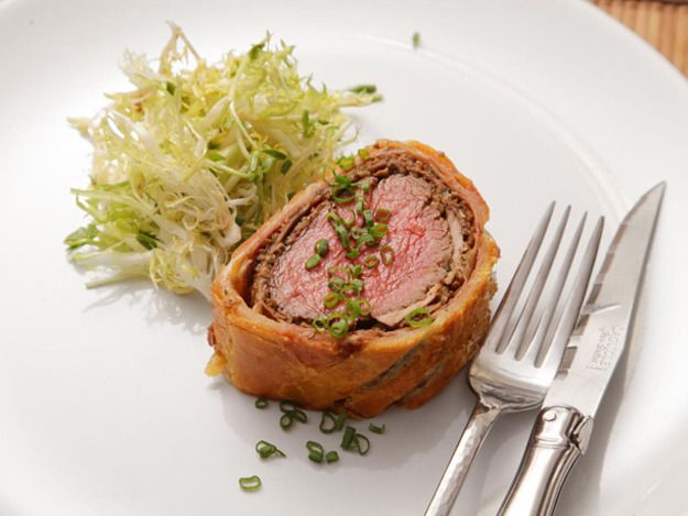 The ultimate in luxurious roasts, Beef Wellington combines beef ...