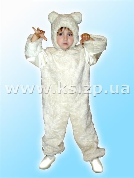 Костюмы белый медведь на ребенка