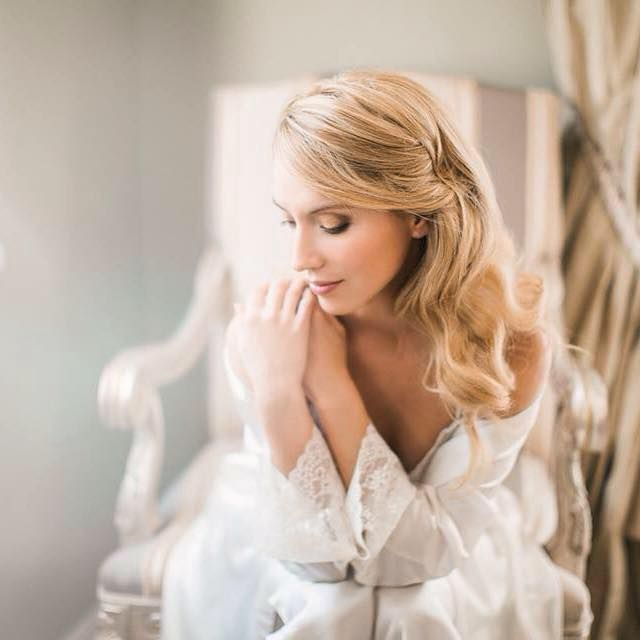Tranquility... just before the big moment! So #romantic and #chic! #Bridal #boudoir #photo by Julia Elinecka. #bridalmakeup & #bridalhair by Antigoni Livieratou