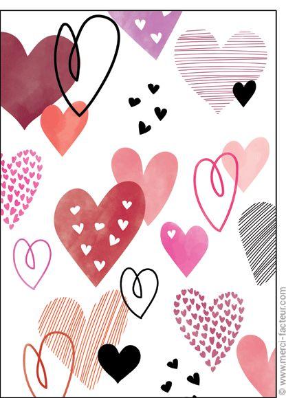 Souhaitez une joyeuse St Valentin avec une jolie carte ❤️  http://www.merci-facteur.com/cartes/rub19-amour-et-saint-valentin.html #carte #amour #StValentin #Love #fleurs #Jetaime #lundi #coeur #jetaime #iloveyou #valentinsday #flowers #amor #SanValentin Carte Saint Valentin couverte de coeurs pour envoyer par La Poste, sur Merci-Facteur !
