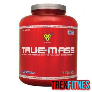 http://trexfitnes.com/bsn-true-mass.html ...True Mass bisa meningkatkan berat badan serta massa otot tanpa menyebabkan kenaikan prosentase lemak di dalam tubuh....