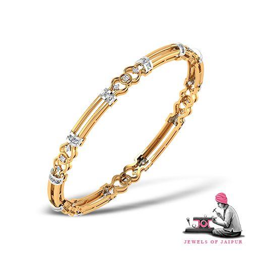 Naturally beautiful! Naturally pure! #GoldBangles #HandCrafted #Artisans #PinkCity #BridalJewelry #GiftForHer #TraditionJewelry