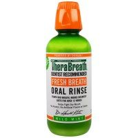 TheraBreath, Fresh Breath, Oral Rinse, Mild Mint, 16 fl oz (473 ml)