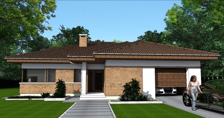 Modern Bungalow House P03 235 square meters 2529 square feet
