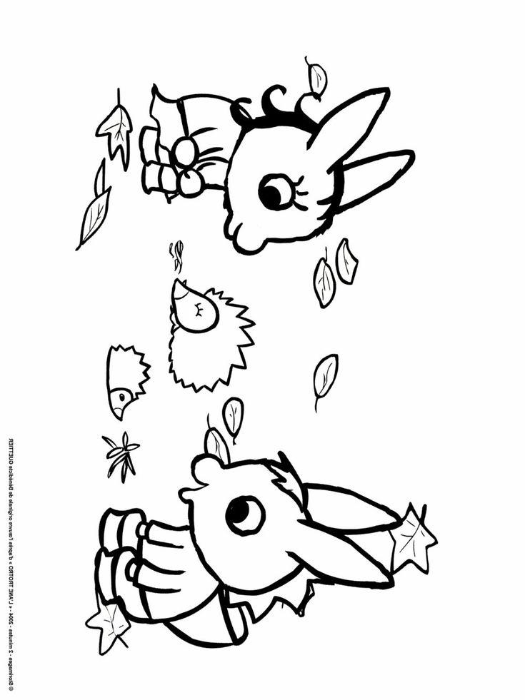 l ane trotro s amuse avec lili en coloriage a imprimer # ...