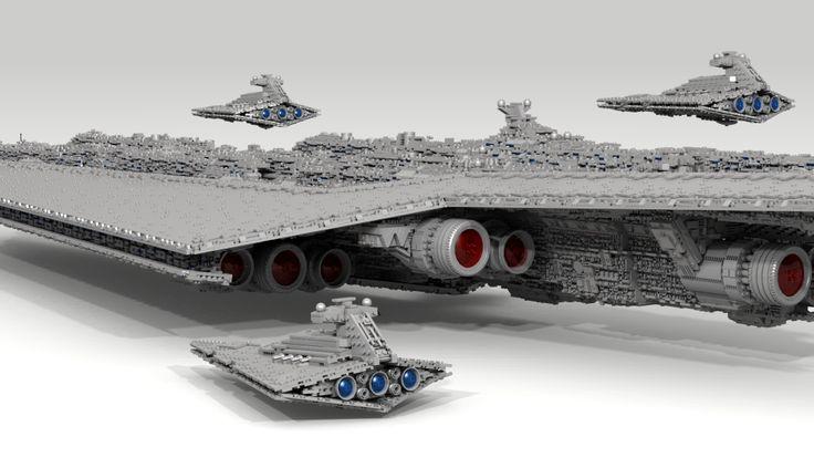 [LDD MOC] 71,000 piece, 13-foot Super Star Destroyer - LEGO Star Wars - Eurobricks Forums