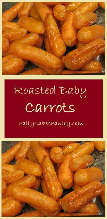 Roasting carrots is a great way to accentuate the natural sugars that occur in them. A roasted carrot is sweeter than a steamed carrot. I love that I can throw them into the oven and ignore them …