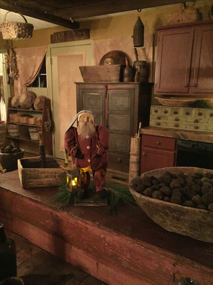 My primitive Santa ❤️