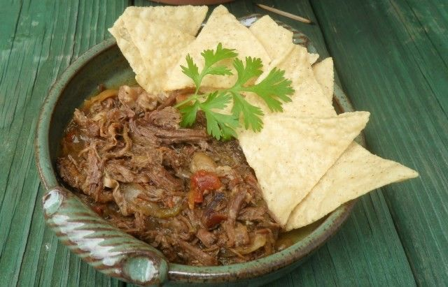 Best Mexican Beef Recipes - Slow Cooker Machaca
