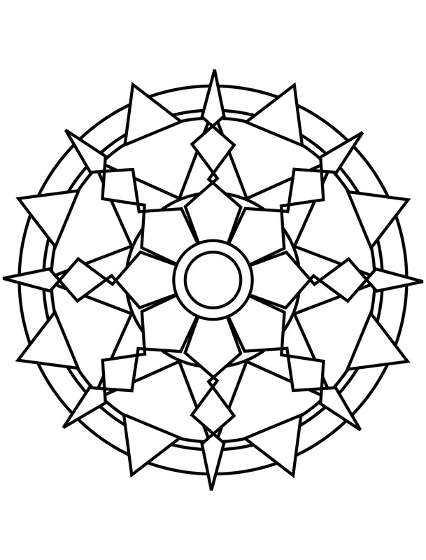 mandala coloring pages google search