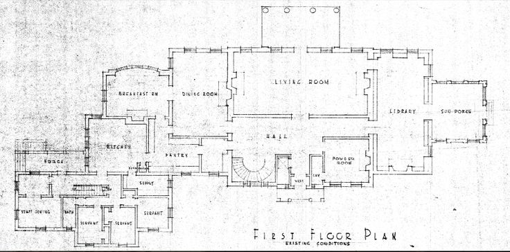 Arbremont original first floor plan now hillwood washington dc floorplans pinterest for Who designed the basic plan for washington dc