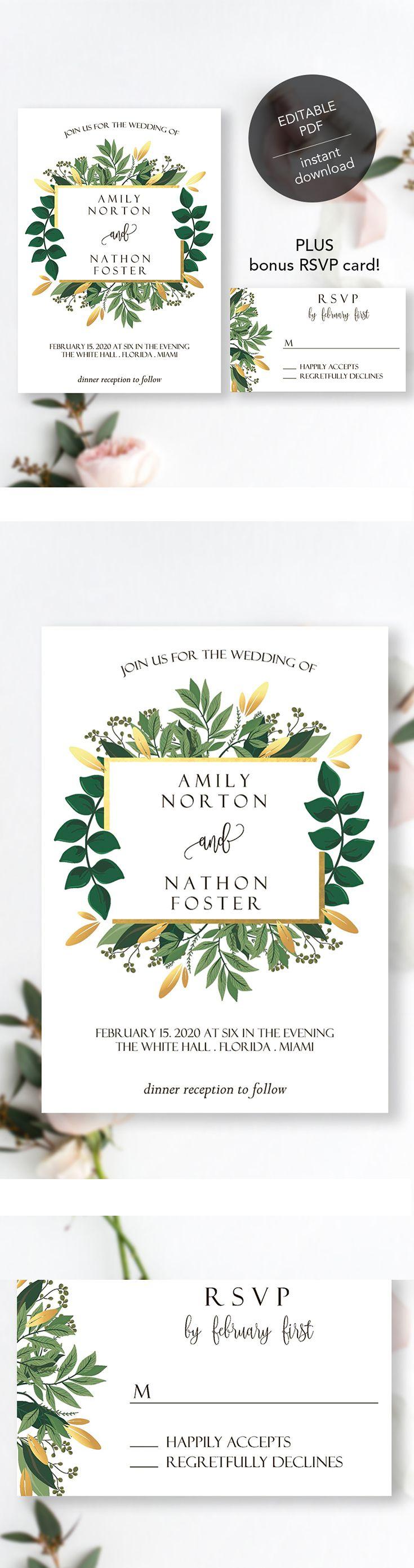 #geometric #geometricwedding #goldwedding #boho #bohowedding #greenery #greenerywedding #weddinginvitation #goldinvitation #goldinvite