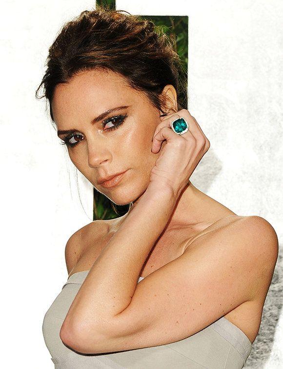 In detail: Victoria Beckham's engagement ring collection | ELLE UK