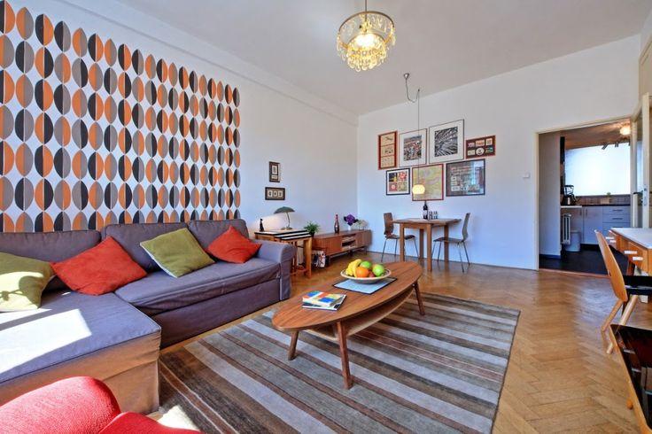Czecho-Retro Apartment 1, Prague, Czech Republic.