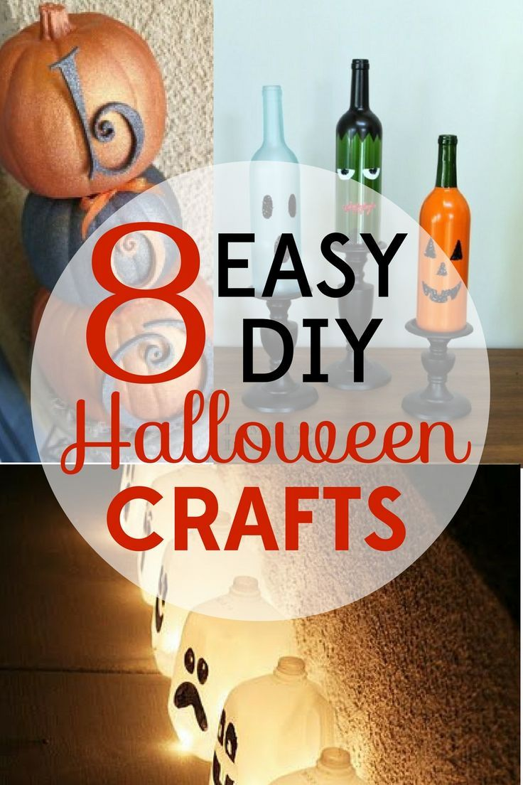 These eight easy DIY Halloween decorations will add some spooky fun to your home without a scary price tag!