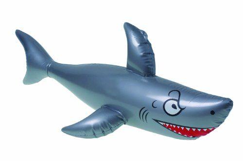 "Inflatable Shark   40"" $3.95"