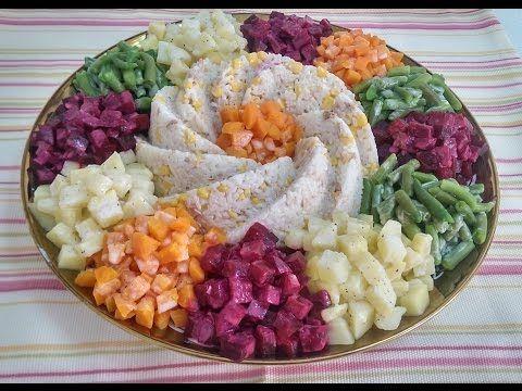 Les 25 meilleures id es de la cat gorie salade marocaine for Algerian cuisine youtube