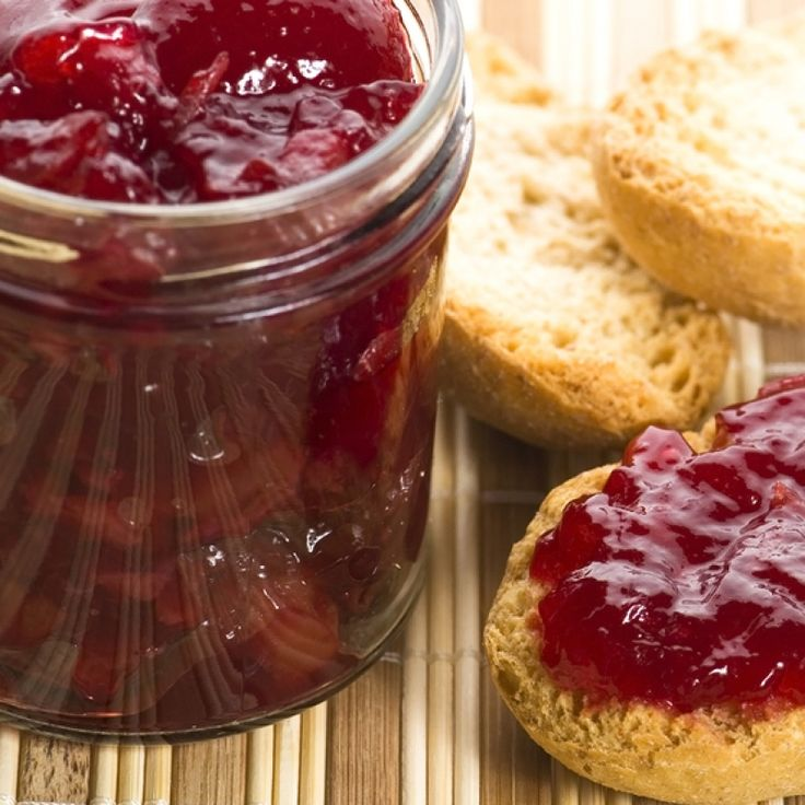 This sour cherry jam recipe makes about 6 small jars of delicious jam that you can enjoy with some fresh rolls, toast or homemade scones.. Sour Cherry Jam Recipe from Grandmothers Kitchen.