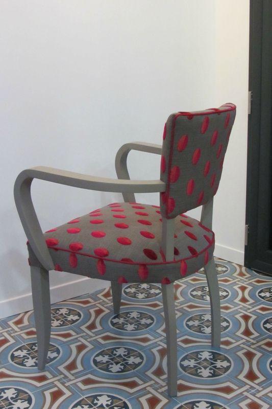 changer le tissu d'un fauteuil bridge à Brest