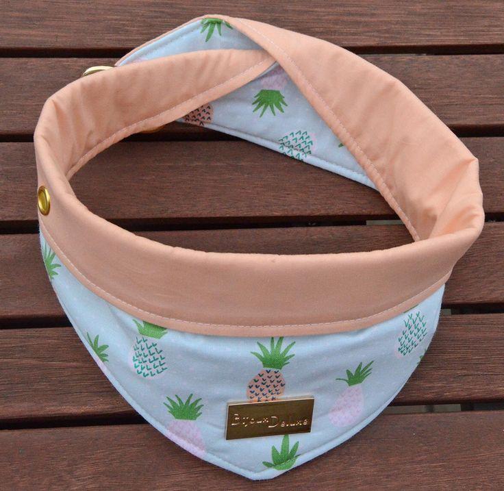 Een persoonlijke favoriet uit mijn Etsy shop https://www.etsy.com/nl/listing/468424058/omkeerbare-hond-bandana-ananas