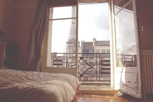 A room in Paris with a view...