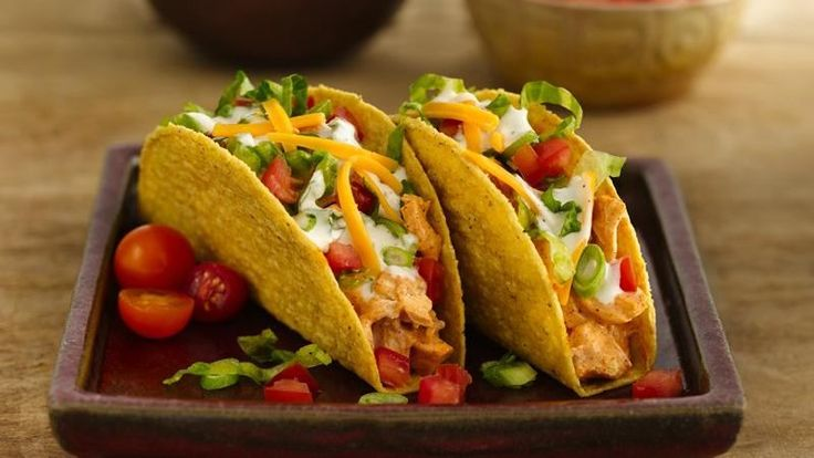 Put a creative spin on traditional tacos with this terrific, tangy chicken-ranch recipe.