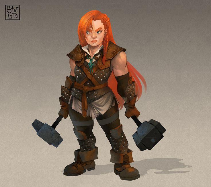 Résultat d'images pour female dwarf