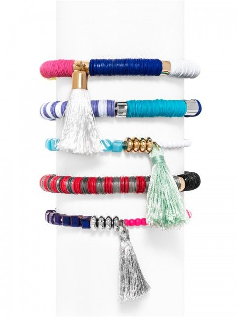 Cape Town Bracelet Set - Pastel