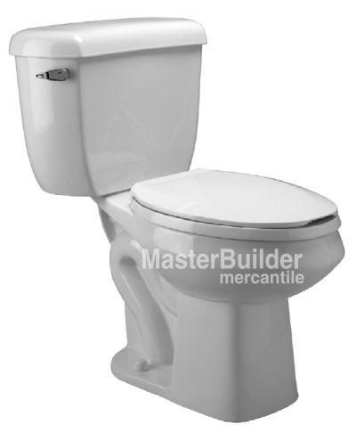 Zurn Z5572 Dual Flush Pressure Assist Elongated, Two-Piece Toilet – MasterBuilder Mercantile Inc.