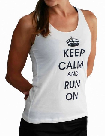 Keep calm white tank fitness pinterest stains keep for How to remove sweat stains from black shirts