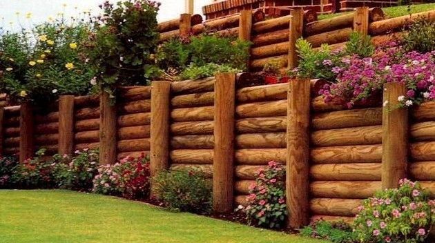 retaining walls for your colorado springs landscape personal retaining walls pinterest landscapes spring and search - Timber Retaining Wall Designs