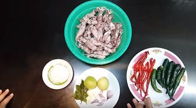 Tips Cara Membuat Resep Masakan Cah Cumi Asin Yang...