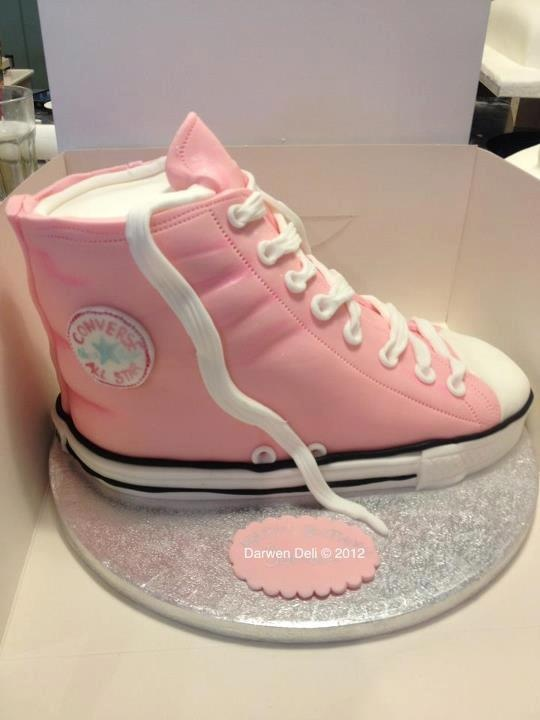 3D Converse Cake Pink
