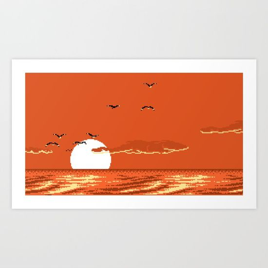 Check out society6curated.com for more! I am a part of the society6 curators program and each purchase through these links will help out myself and other artists. Thanks for looking! @society6 #illustration #wall #apartment #decor #homedecor #buy #shop #sale #shopping #apartmentgoals #sophomoreyear #sophomore #year #college #student #home #house #gift #idea #art #prints #buyart #artforsale #vintage #gamer #gaming #sunset #videogames #nintendo #90s #8bit #bit #coolart