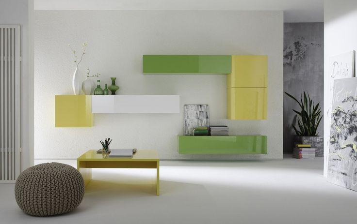 Έπιπλα Σπιτιού - Σύνθεση Τοίχου Linea Color 1