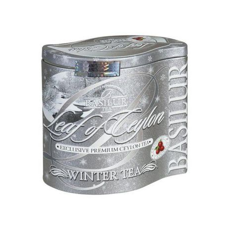 Basilur 7570 WINTER-TEA plech 125g, čaj