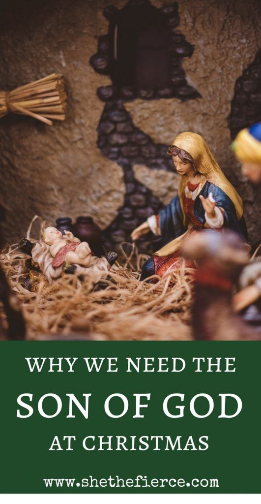 Why We Need The Son of God This Christmas | #reasonfortheseason #christmas #advent | An excerpt from the advent eBook His Name Shall Be Called. Download your free copy!