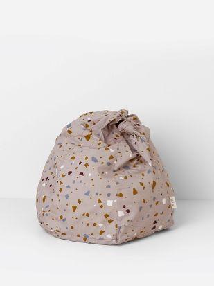 Knot Bean Bag - Terrazzo - Rose