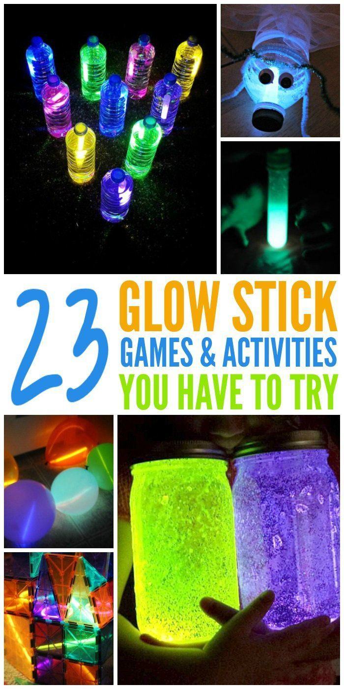 Have fun after dark with these crazy cool glow stick hacks and activities.