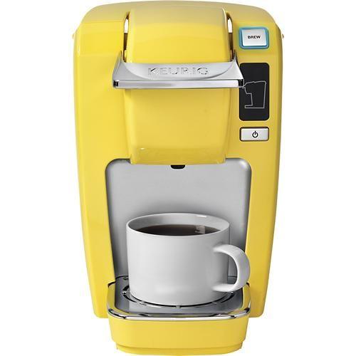 Keurig Coffee Maker Lifespan : Keurig - K10 Mini Plus Single-Serve Brewer - Yellow for USD 89.99 (orig. USD 99.99) Home & Kitchen ...