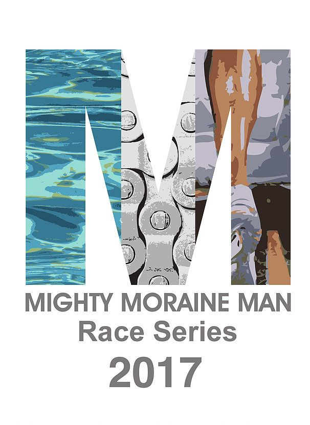 Mighty Moraine Man Triathlon Logo