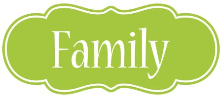 FAMILY Logo Effect Colorful Text Effects In Various Flavors