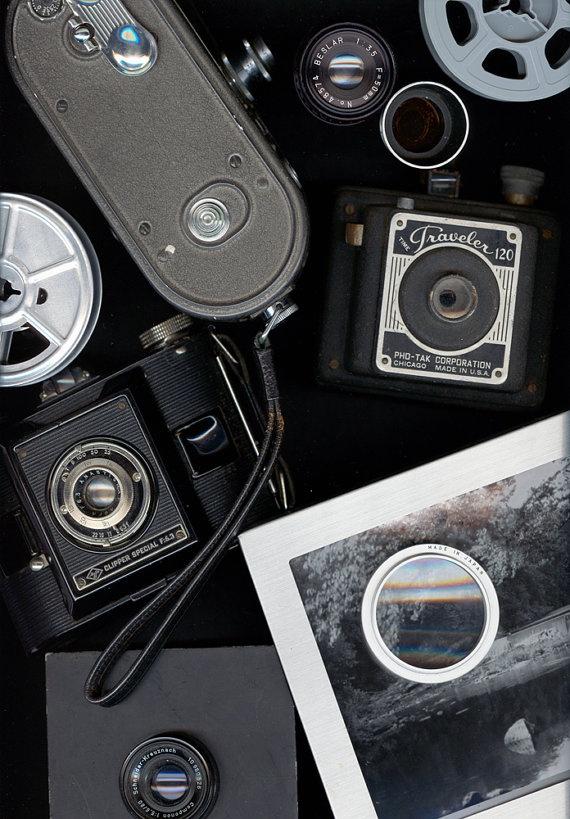Camera Nostalgia Scanography Photo 8x10 by nightscapestudio, $17.00