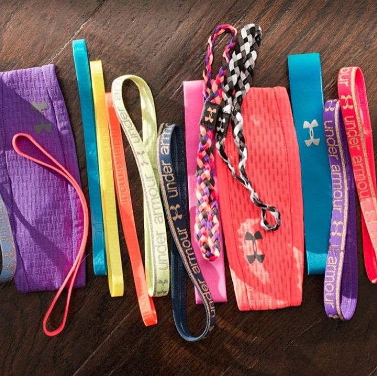Keep your eyes on the prize! Crush your workouts in a UA Headband. #accessories #fitnessfashion