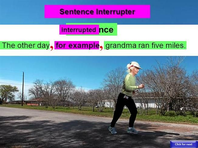 Conjunctive Adverbs & Interrupters