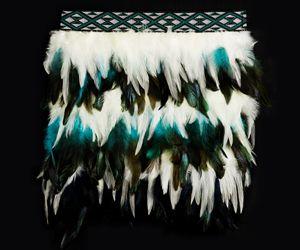 Whaiaipo - Maori Korowai, Art & Crafts. Aotearoa - New Zealand