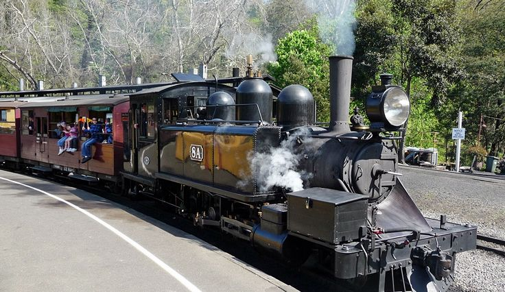8A Victorian Railways NA Class Steam Locomotive